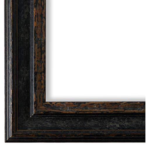 Online Galerie Bingold Bilderrahmen Schwarz 30x40-30 x 40 cm - Antik, Barock, Vintage - Alle Größen - handgefertigt in Deutschland - WRF - Forli 3,7 -
