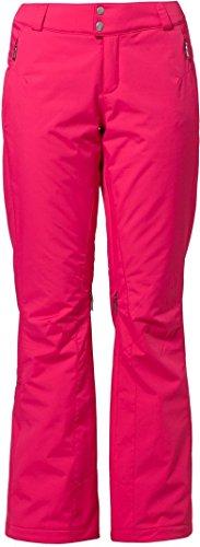 Hose Damen Ski Spyder (Spyder The Traveler Tailored Fit Pant Damen Skihose weiß 144023 691 pink (14/42))