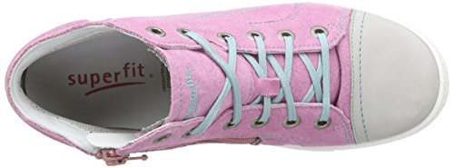 Superfit Tensy, Sneakers Hautes fille Rose (kitty Kombi 67)