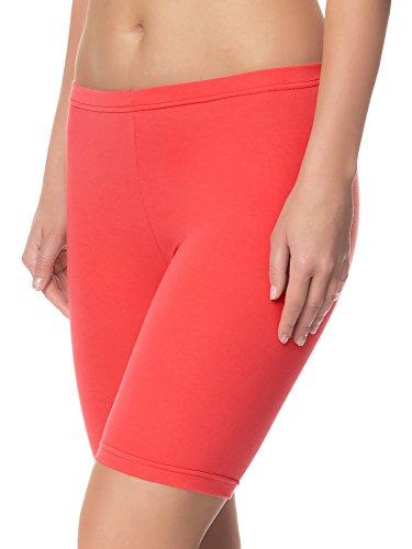 Ladeheid Damen Shorts Long LAMA04 Coral20