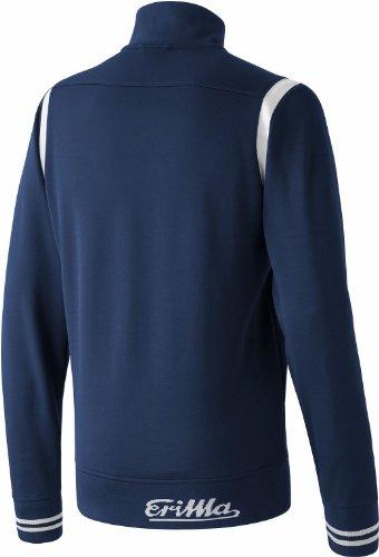 erima Erwachsene Jacke Retro Jacket New Navy/Weiß