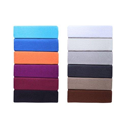 Coloridas sábanas bajeras ajustables forro polar