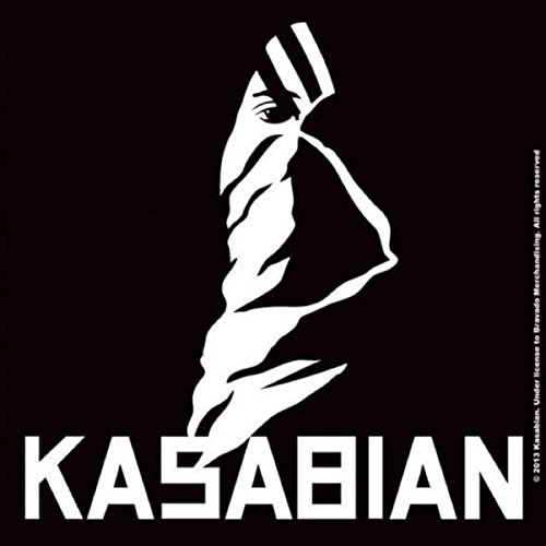 Kasabian Ultra Face band logo Nue 9.5cm x 9.5cm single cork Untersetzer Face Kids Sweatshirt