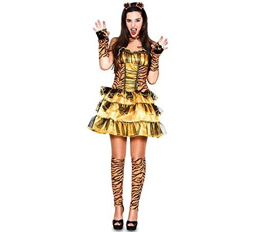 Kostüm Männlich Tiger - Fyasa 706401-t04Sexy Tiger Kostüm, groß