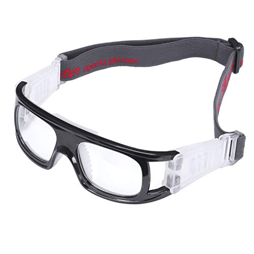 JVSISM Sport Brillen Basketball Sport Brillen Fu?Ball Schutz Brillen Ski Brillen Brillen Rad Sport Brillen -- Schwarz