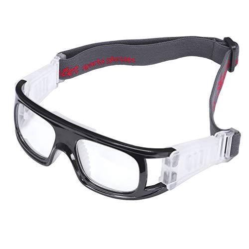 JVSISM Sport Brillen Basketball Sport Brillen Fu?Ball Schutz Brillen Ski Brillen Brillen Rad Sport Brillen -- Schwarz (Basketball Brille)