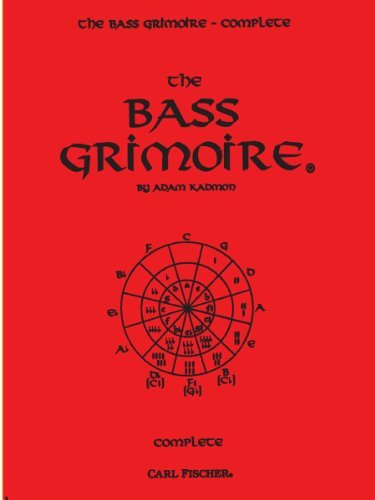 The Bass Grimoire Complete by Adam Kadmon (1996-01-01)