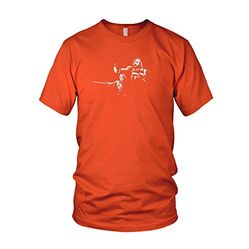GoT: Arya Fiction - Herren T-Shirt Orange