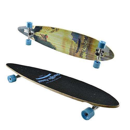 Longboard Skateboard Penny Surf-Board Street-Surfer Fun Deck Komplett ABEC7 44