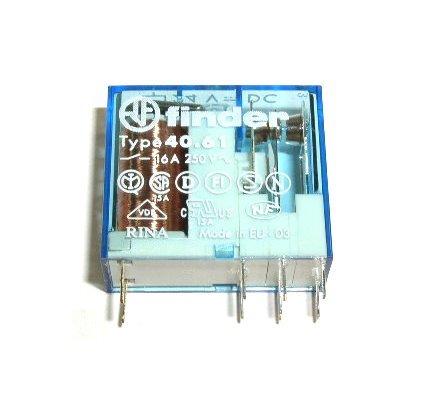 Finder Relais 40.61 12V DC 1xUM 16A 250VAC Dc-relais