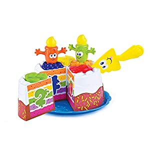 Happy Kid, Pastel Cumpleaños Porciones Divertidas 12+ Muñecas y Figuras (AJ HK4539)