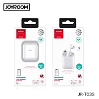 Joyroom JR-T03S TWS Airpods with wireless charging case (Newly launched).