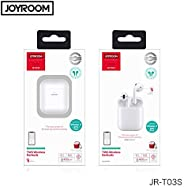 JOYROOOM JR-T03S new version Wireless Bluetooth Headphones TWS Bluetooth 5.0 Touch Control POP UP Window Wireless Earbuds wi