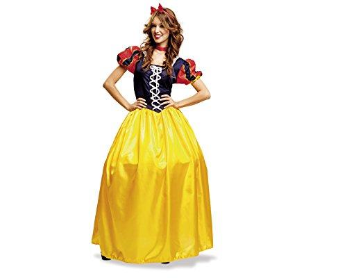 Imagen de my other me  disfraz de blancanieves, talla m l viving costumes mom00785