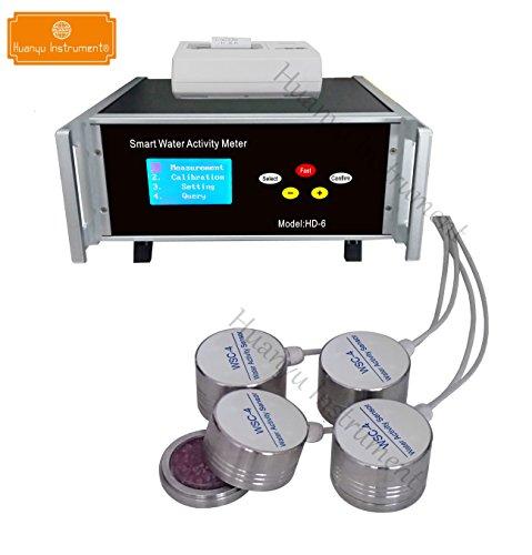 Huanyu hd-6Smart Wasser Aktivität Messgerät Lab Testen Instrument Messgerät (mit Drucker), schwarz