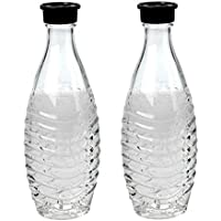 SodaStream Glass Carafe - For Penguin or Crystal Machine Only - Pack of 2 by SodaStream