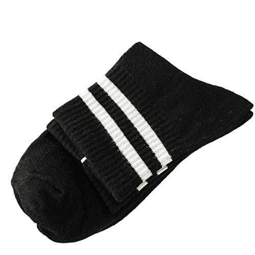 Cwemimifa Baumwoll Sneaker Ballerina Socken, Hip Hop Unisex Kreative Harajuku Brief Baumwolle Skateboard Socke Bequeme Socken, Schwarz