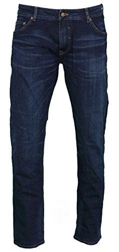 "Nagano Herren Jeans ""Chogo"" - rinsed blue Blau"