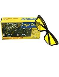 NightDrive Unisex Night Vision Glasses - Yellow