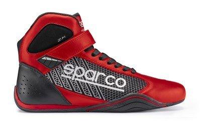Sparco, scarpe Omega KB-6 Misura 43, colore rosso e nero.