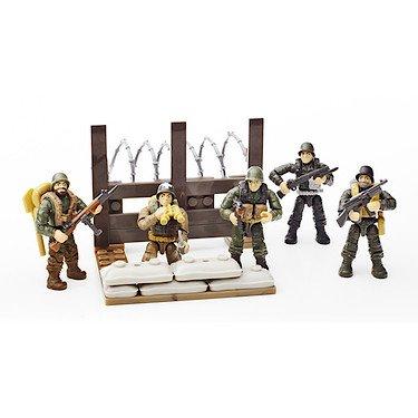 Preisvergleich Produktbild Mega Bloks 06862 Call Of Duty WW2 Legends: Platoon Patrol