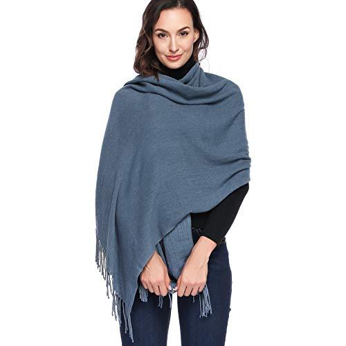 HOYAYO Pashmina Damen Kaschmir - Übergroßer weicher Kaschmir Umschlagtuch