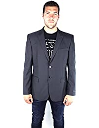 French Connection 55AT9 New York Suiting Dan-SB2-Peak Veste Gris Charcoal Homme