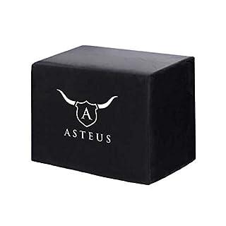 Asteus 4260293725356 Wetterfeste Abdeckhaube für Willy, Schwarz, 39 x 23 x 37 cm