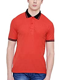 TSX- Men's Polo Neck Half Sleeves Casual T-Shirt For Men
