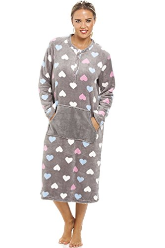 camille-womens-ladies-multi-coloured-heart-print-supersoft-grey-lounger-14-16