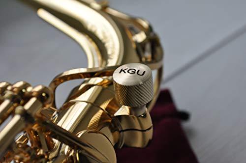 Saxofón Heavy Neck Tornillos KGUBrass, saxofón alto, saxofón tenor, saxofón soprano, barítono saxofón cuello tornillos