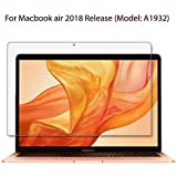 OJOS - Matte Clear Anti Glare Screen Protector For Apple MacBook Air 13 Inch (2018 Model A1932 Touch ID) Screen Protector, Anti-Glare & Anti-Fingerprint (Matte) Shield