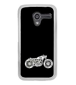 Racing Bike 2D Hard Polycarbonate Designer Back Case Cover for Motorola Moto X :: Motorola Moto XT1052 XT1058 XT1053 XT1056 XT1060 XT1055