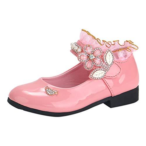 Einzelne Schuhe Mädchen Kristall Kinderschuhe Mädchen Schuhe Outdoor Prinzessin Schuhe Heligen Festliche Schuhe Blumen Kinderschuhe -