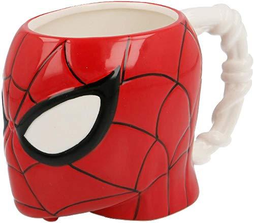 Stor Marvel Head Spiderman 3D mug