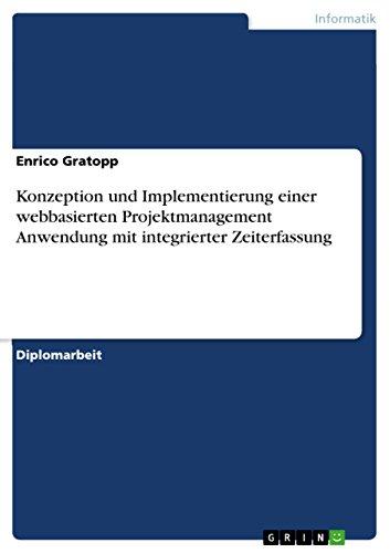 mentierung einer webbasierten Projektmanagement Anwendung mit integrierter Zeiterfassung (Model-view-controller)