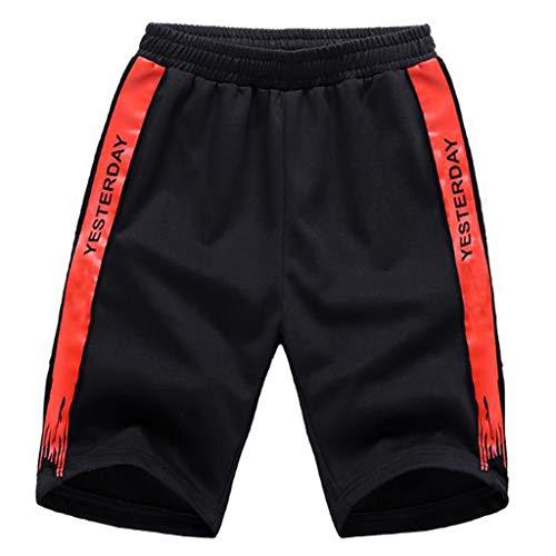 UFACE Shorts - schwarz/neon - Bodybuilding und Fitness Short für Herren