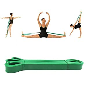 ssguer9 Superior Ballett Stretch-Band Tanz Fuß Keilrahmen Gurt Latex Loop Widerstand Bands für Gymnastik Eislaufen Cheerleader Training verbessern Flexibilität