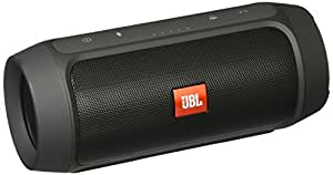 JBL Charge 2+ Portable Wireless Speaker with Built-in Powerbank & Mic (Black)