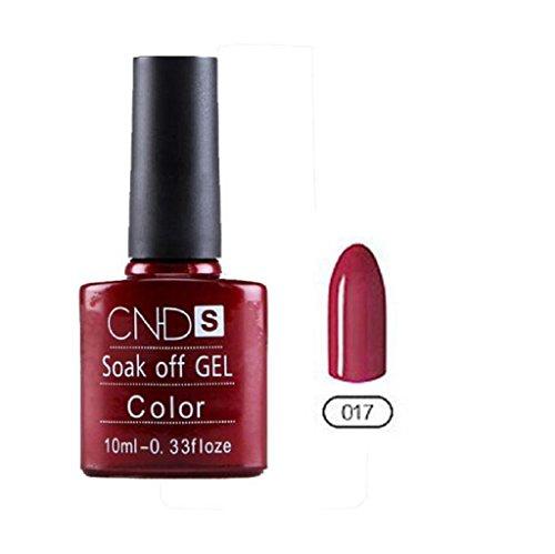 Vovotrade ❃❃ CNHIDS Vernis à ongles UV et LED Brillant Coloré Longue Durée de Trempage Hors du Vernis Manucure Bon Marché 10ML
