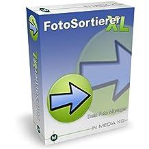FotoSortierer XL (2017er Version) Fotoverwaltung und Foto Manager zum Fotos sortieren, Fotos umbenennen, doppelte Bilder finden und doppelte Fotos löschen. Bilder sortieren war noch nie so einfach.