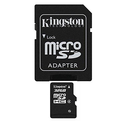 Original 32 GB Micro-SDHC, TF-Speicherkarte mit SD-Adapter für HTC One/M8, M9 E8 Desire 310 501 516 526 g, 600, 601, 616 620 g 816 g 700 820Q 820S 826 320 500 510 610 612 626 dual sim mini Max Remix 2 - Htc Dual Max One Sim