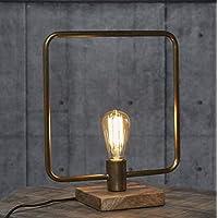Tischleuchte Zijlstra 8198//48 Dreibein Holz Vintage Beistelllampe E27 Schalter