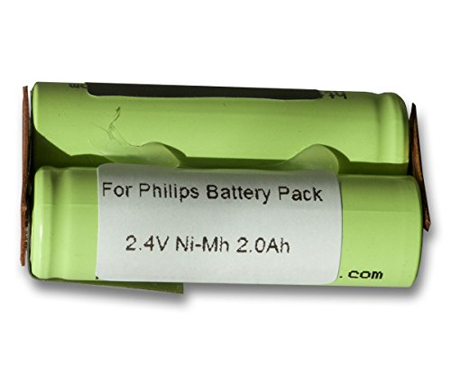 Preisvergleich Produktbild Vinitech Akku für Philips Philishave HQ7320, HQ7330, HQ7340, HQ7350, HQ7360, HQ7363, HQ7370, HQ7380, HQ7390, HQ7740, HQ7742, HQ7760, HQ7780, HQ7782, HQ7830, HQ7850, HQ7870, HQ8830, HQ8835, HQ8845, HQ8850, HQ8865 2000mAh NiMh