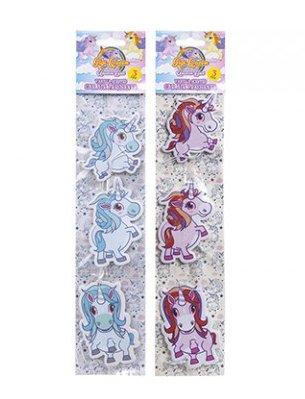 Unicorn deodorante confezione da 3unicorno vaniglia deodorante per auto in pastello blu o rosa da Homestreet Pink
