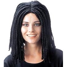 peluca rastas negra