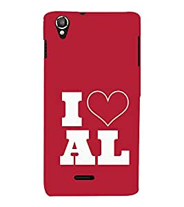 EPICCASE I love All Mobile Back Case Cover For Lava Iris X800 / Lava Iris X800 (Designer Case)