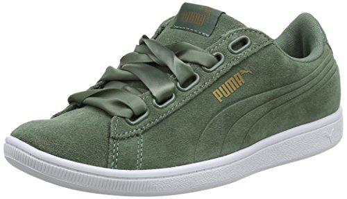 Puma Damen Vikky Ribbon SD P Sneaker, Grün Laurel Wreath 03, 39 EU