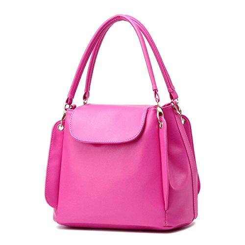 Borse In Pelle Borse Da Donna Borse A Tracolla Top Tote Ladies Borse Pink