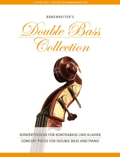 Concert Pieces for Double Bass - Contrebasse et Piano